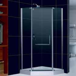 Профиль стекло-стекло с петлей для двери 135° RGW G-201CP, хром_2