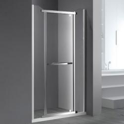 Профиль стекло-стекло с петлей для двери 180° RGW G-202CP, хром_2
