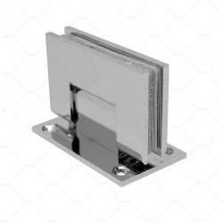 Петля стекло-стена  90° RGW A-1142CP, хром, латунь_1