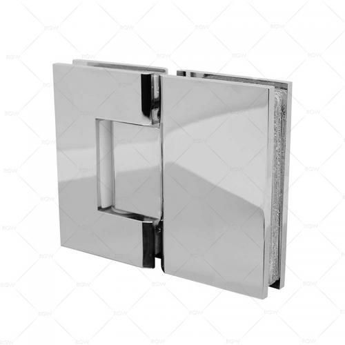 RGW A-2151CP петля стекло-стекло 180°, латунь хромированная