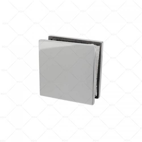 RGW F-1101CP коннектор стекло-стена точечный 90°, латунь хромированная