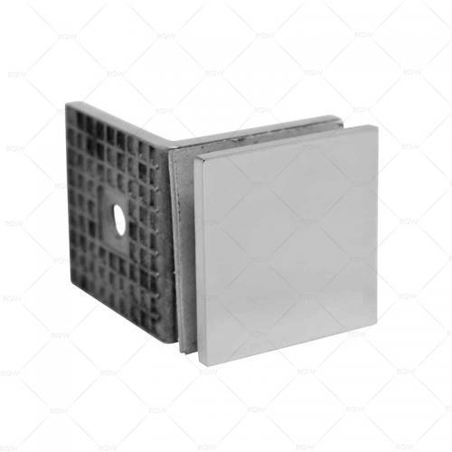 RGW F-1010CP коннектор стекло-стена 90°, хром