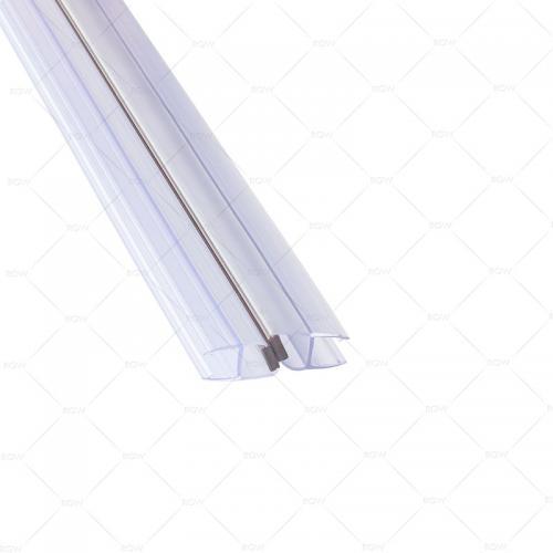 RGW M-2010B магнитный профиль пвх 180° на стекло 10 мм